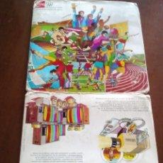 Coleccionismo Álbum: COCA-COLA MONTREAL 1976 84 TRANSPARENCIAS COMPLETO. Lote 97371687