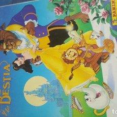 Coleccionismo Álbum: ALBUM LA BELLA Y LA BESTIA. Lote 97428799