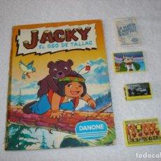 Sammeln Sammelalbum - DANONE: ALBUM COMPLETO JACKY (EL OSO DE TALLAC) + 158 CROMOS DE DANONE NUEVOS, DISTINTAS COLECCIONES - 97807619