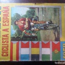 Coleccionismo Álbum: VUELTA CICLISTA A ESPAÑA 1958. COMPLETO. Lote 98388419