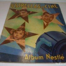 Coleccionismo Álbum: ALBUM COMPLETO...ESTRELLAS DE CINE....NESTLÈ...AÑO 1936. Lote 98688951