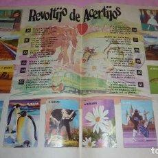 Coleccionismo Álbum: EL LIBRO DE LAS ADIVINANZAS EL AUTÉNTICO ALBUM BIMBO AÑOS 70. Lote 98789595
