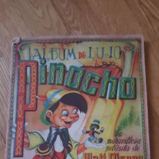Coleccionismo Álbum: ÁLBUM DE DE LUJO. PINOCHO. COMPLETO. WALT DISNEY. EDICIÓN. FHER.. Lote 98841027