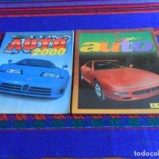 Coleccionismo Álbum: SUPER AUTO COMPLETO DE PANINI Y AUTO 2000 COMPLETO DE SL ITALY DE 1994. BUEN ESTADO.. Lote 98843851