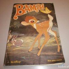 Coleccionismo Álbum: ALBUM BAMBI DE FHER COMPLETO VER FOTOS. Lote 98869995