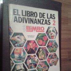 Coleccionismo Álbum: ALBUM EL LIBRO DE LAS ADIVINANZAS 2 FALTAN 15 CROMOS ORIGINAL BIMBO. Lote 99235127