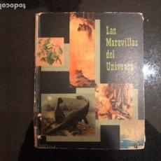Coleccionismo Álbum: ALBUM COMPLETO MARAVILLAS DEL UNIVERSO NESTLE. Lote 99268467