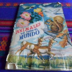 Coleccionismo Álbum: ANIMALES DE TODO EL MUNDO COMPLETO 300 CROMOS. FHER AÑOS 50. . Lote 99351435