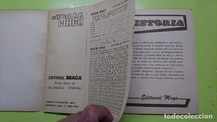 Coleccionismo Álbum: CROMHISTORIA, ÁLBUM MAGA, COMPLETO - Foto 2 - 99724211