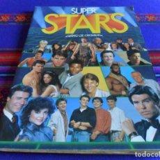 Coleccionismo Álbum: SUPER STARS COMPLETO 216 CROMOS. ESTE 1986. BUEN ESTADO.. Lote 99788875