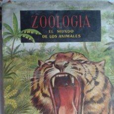 Coleccionismo Álbum: ZOOLOGÍA EL MUNDO DE LOS ANIMALES. Lote 99833499
