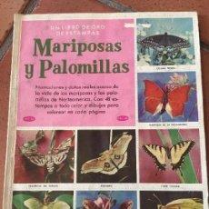 Coleccionismo Álbum: ALBUM DE CROMOS COMPLETO - MARIPOSAS Y PALOMILLAS - VER FOTOS. Lote 99924143