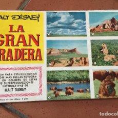 Coleccionismo Álbum: ALBUM DE CROMOS COMPLETO - LA GRAN PRADERA - DE WALT DISNEY. VER FOTOS. Lote 99924295