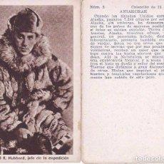 Coleccionismo Álbum: COLECCION COMPLETA DE 21 CROMOS DE ANIAKCHAK EN ALASKA (SIN PUBLICIDAD). Lote 100076675