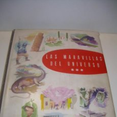 Coleccionismo Álbum: ALBUM COMPLETO....LAS MARAVILLAS DEL UNIVERSO...NESTLE..AÑO. 1958. Lote 100131827