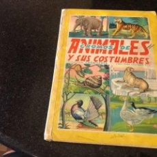 Coleccionismo Álbum: ALBUM COMPLETO CROMOS DE ANIMALES Y SUS COSTUMBRES CROMOFHER. Lote 100143487