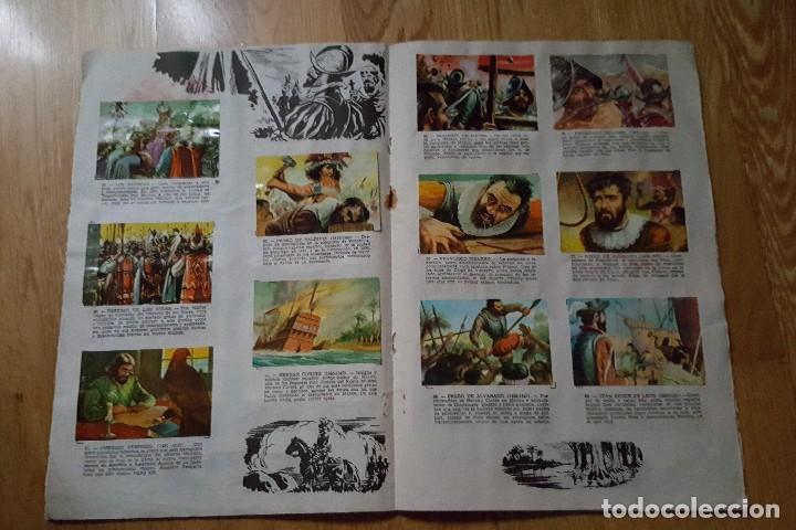 Coleccionismo Álbum: ALBUM GRANDES CONQUISTADORES CHOCOLATES SOLE. COMPLETO - Foto 4 - 100575951
