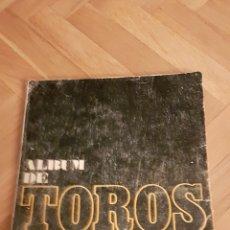 Coleccionismo Álbum: ÁLBUM CROMOS COMPLETO TOROS DIARIO EL ALCAZAR. Lote 100605514