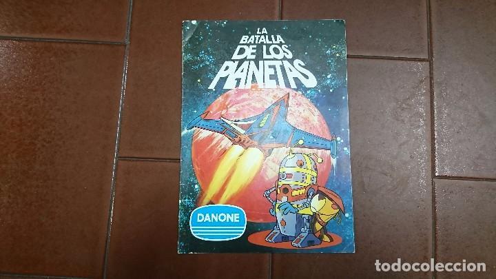 ÁLBUM COMPLETO LA BATALLA DE LOS PLANETAS, DANONE (Coleccionismo - Cromos y Álbumes - Álbumes Completos)