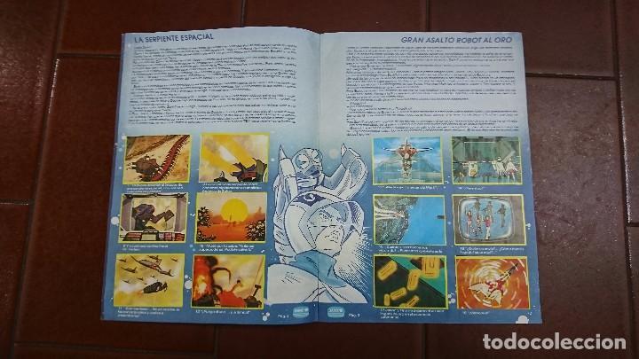 Coleccionismo Álbum: ÁLBUM COMPLETO LA BATALLA DE LOS PLANETAS, DANONE - Foto 3 - 100753183
