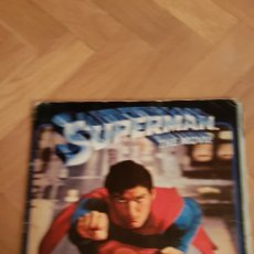 Coleccionismo Álbum: ÁLBUM FHER SUPERMAN THE MOVIE COMPLETO. Lote 101355495