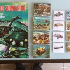 Coleccionismo Álbum: MUNDO SUBMARINO. EDITORIAL BALLGRAF 1973. NUEVO Y TODOS CROMOS SIN PEGAR. Lote 101914883