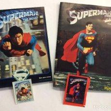 Coleccionismo Álbum: LOTE ÁLBUMES SUPERMAN + SUS SOBRES VACÍOS . Lote 102150419