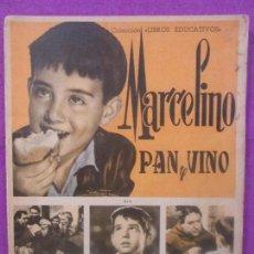 Coleccionismo Álbum: ALBUM CROMOS MARCELINO PAN Y VINO, COMPLETO, FHER, 1958, . Lote 102202491