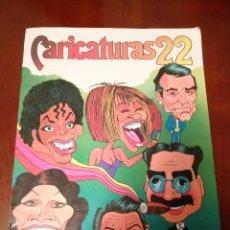 Coleccionismo Álbum: ÁLBUM CARICATURAS 22 COMPLETO,. Lote 102387771