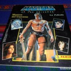 Coleccionismo Álbum: MASTERS OF THE UNIVERSE LA PELÍCULA COMPLETO 225 CROMOS. MASTERS DEL UNIVERSO. PANINI 1987. MBE.. Lote 102424335