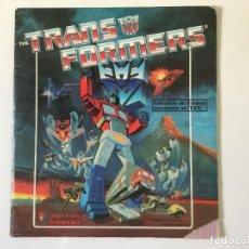 Coleccionismo Álbum: ÁLBUM THE TRANSFORMERS 1986 - COMPLETO - PANINI. Lote 119485230