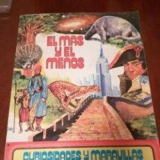Coleccionismo Álbum: ÁLBUM EL MAS Y EL MENOS(COMPLETO)AÑO 1975 RUIZ ROMERO. Lote 102471963