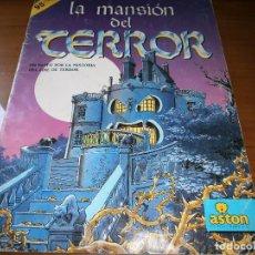 Coleccionismo Álbum: ALBUM DE CROMOS LA MANSIÓN DEL TERROR - ASTON DE EDICIONES - 1990 - COMPLETO.. Lote 102587771