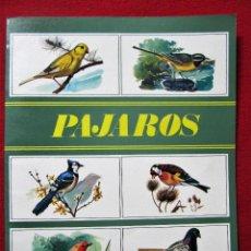 Coleccionismo Álbum: ALBUM CROMOS PAJAROS COLECCION ZOO. SUSAETA EDICIONES S.A. COMPLETO. Lote 102793419