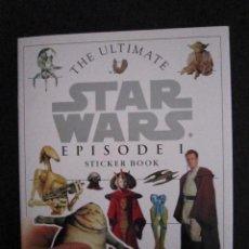 Coleccionismo Álbum: ALBUM - THE ULTIMATE STAR WARS EPISODE I (STICKER BOOK) - 1999 - USA. Lote 102805303