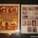 Coleccionismo Álbum: ÁLBUM MONUMENTOS Y BELLEZAS DE ESPAÑA Nº 1, AÑOS 50, COMPLETO, CON HOJA DE LA SUERTE COMPLETA, BUEN . Lote 102920951
