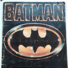 Coleccionismo Álbum: ALBUM BATMAN COMPLETO. Lote 103403339