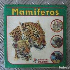 Coleccionismo Álbum: MAMÍFEROS ALBUM COMPLETO 240 CROMOS. PANINI AÑOS 90.. Lote 103497347