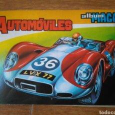 Coleccionismo Álbum: AUTOMOVILES COMPLETO EDITORIAL MAGA 1972 216 CROMOS. Lote 103770795