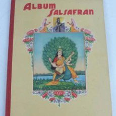 Coleccionismo Álbum: ALBUM COMPLETO ALBUM SALSAFRAN. EDITADO POR VDA. DE A. GOMEZ TEJEDOR. NOVELDA, ALICANTE, AÑO 1942. Á. Lote 103930219