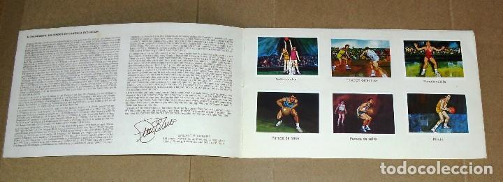 Coleccionismo Álbum: ÁLBUM COMPLETO.EL DEPORTE VISTO POR SUS ASES. Nº 3. BALONCESTO. CHOCOSPORT/ NESTLE.1967. 21CM.X 12CM - Foto 2 - 103951531