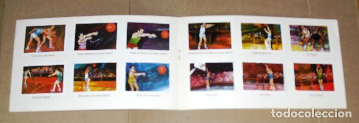 Coleccionismo Álbum: ÁLBUM COMPLETO.EL DEPORTE VISTO POR SUS ASES. Nº 3. BALONCESTO. CHOCOSPORT/ NESTLE.1967. 21CM.X 12CM - Foto 3 - 103951531