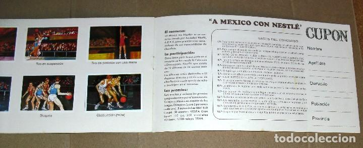 Coleccionismo Álbum: ÁLBUM COMPLETO.EL DEPORTE VISTO POR SUS ASES. Nº 3. BALONCESTO. CHOCOSPORT/ NESTLE.1967. 21CM.X 12CM - Foto 4 - 103951531