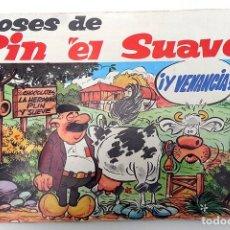 Coleccionismo Álbum: ALBUM 1971 PIN EL SUAVE Y LA VACA VENANCIA COMPLETO. CHOCOLATES LA HERMINIA. BEATLES COMIC ASTURIAS. Lote 103961311