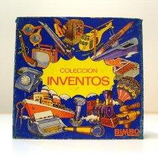 Coleccionismo Álbum: BIMBO COLECCION INVENTOS 1973 COMPLETA. COMPLETO 99 FICHAS. MUY BUEN ESTADO. Lote 56044534