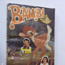 Coleccionismo Álbum: ALBUM BAMBI. COMPLETO. FALTA POSTER CENTRAL. SUSAETA. Lote 104856339