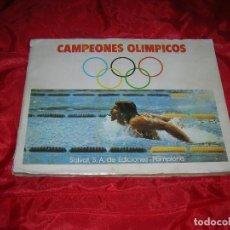 Coleccionismo Álbum: ALBUM CAMPEONES OLIMPICOS - MUNICH 1972- SALVAT 1973. Lote 105064795