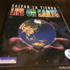 Coleccionismo Álbum: ALBUM DE CROMOS - COMPLETO - SALVAD LA TIERRA, LIFE ON EARTH. ORIGINAL. LEER MAS. Lote 142915144