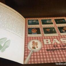 Coleccionismo Álbum: ALBUM DE CROMOS - COMPLETO - BASIL EL RATON SUPERDETECTVE DE PANINI. ORIGINAL. LEER MAS. Lote 105153111