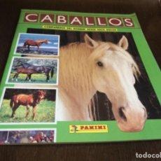 Coleccionismo Álbum: ALBUM DE CROMOS - COMPLETO - CABALLOS DE PANINI. ORIGINAL. LEER MAS. Lote 105156215